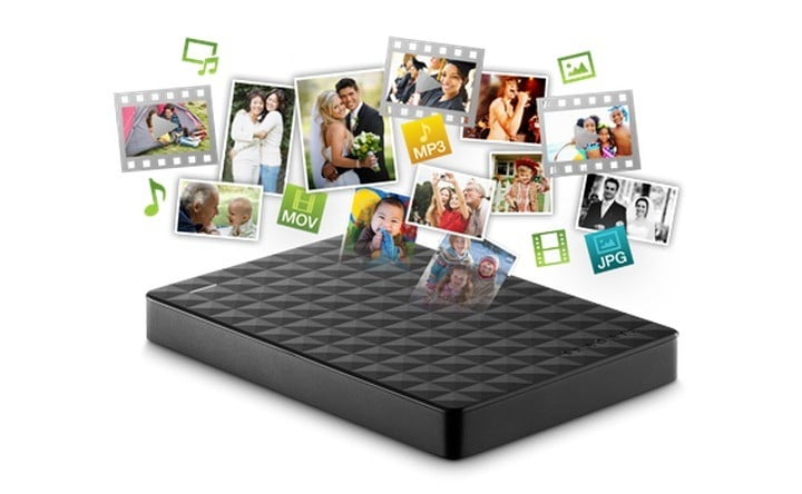 Seagate Expansion 1TB Portable External HDD