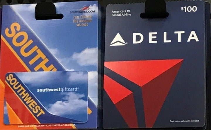 Airline Gift Card
