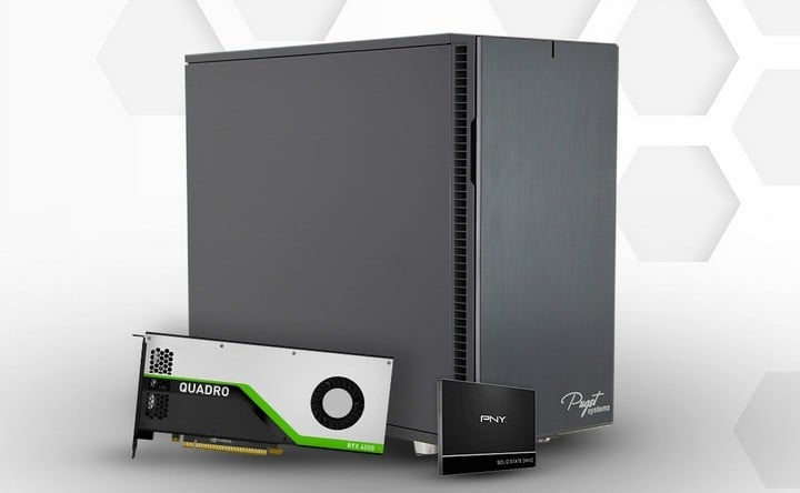 NVIDIA Quadro RTX 4000 - Puget Workstation PC