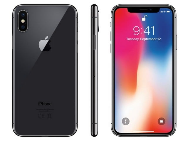 iPhone X Smartphone (Grey)