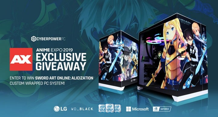 Sword Art Online Custom Gaming PC
